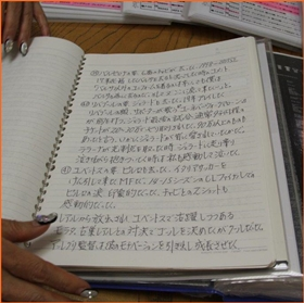 小柳ルミ子 サッカーノート